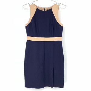 J Crew petite Gwen dress in colorblock
